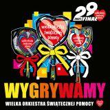 Logo 29. Finału Wielkiej Orkiestry Świątecznej Pomocy
